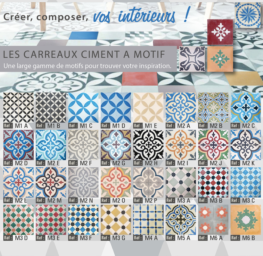 vente de carreaux ciments