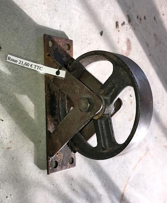 roue en fer