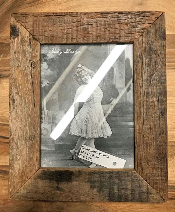 cadre en bois