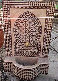 fontaine orientale
