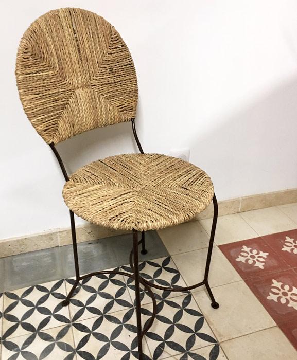 siège osier et doum