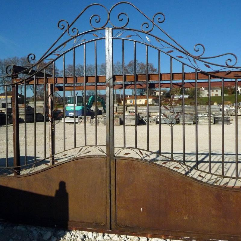 portail en fer