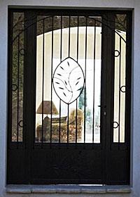 Porte ferronnerie