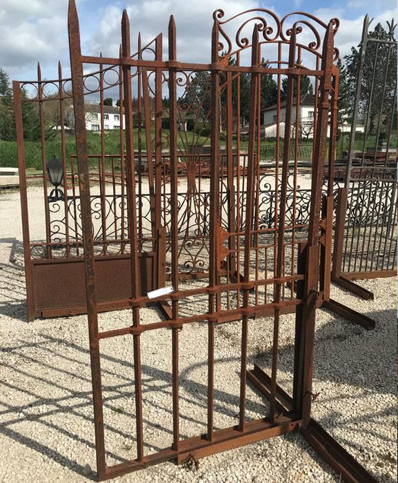 Portillon ferronnerie