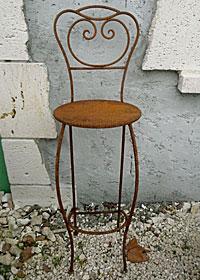 Chaise de bar - mobilier oriental
